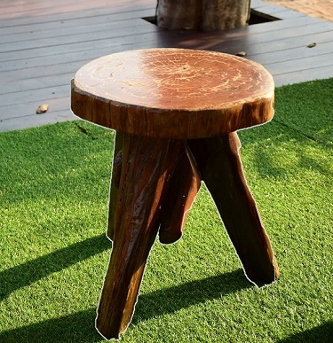 The 3-legged milk stool as representative of the people-process-technology framework of project management.