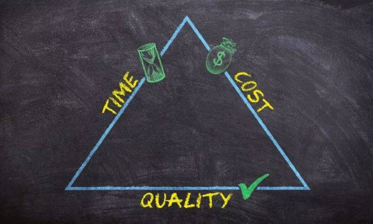 Time, cost, quality – pick two