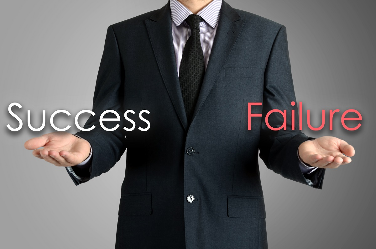 What defines whether a project is a success or failure?
